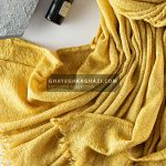 شال پاییزه ماری - مدل 1991خردلی